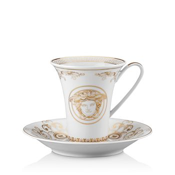 Versace - Medusa Gala Coffee Cup & Saucer