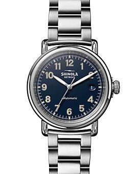 Shinola - The Runwell Link Bracelet Automatic Watch, 39.5mm