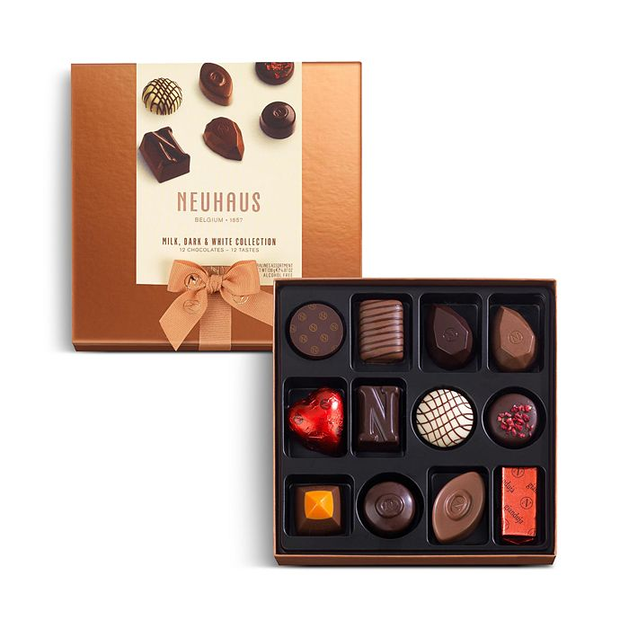 Neuhaus - Milk, Dark & White Collection, 12 Piece