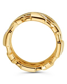 Michael Kors - Mercer Three Layered Ring in 14K Gold-Plated Sterling Silver