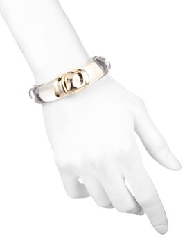 Alexis Bittar - Sculptural Metal Hinge Bracelet