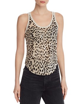 CHASER - Leopard-Print Racerback Tank