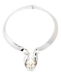 """Carolee - Open Y Front Necklace, 16"""""""