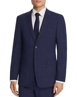 Theory - Chambers Windowpane Slim Fit Suit Jacket - 100% Exclusive