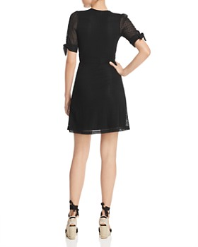 Nightcap - Mesh-Lace Mini Dress