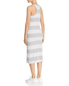 Marc New York - Striped Racerback Midi Tank Dress
