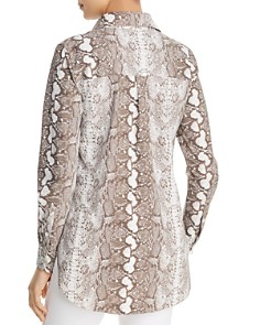 Lyssé - Schiffer Snake Print Button Down Top