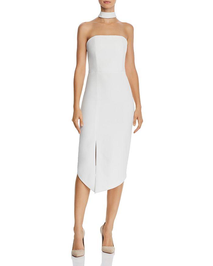 Alice and Olivia Alice + Olivia Sia Choker Detail Strapless Dress ... bbbb125c0