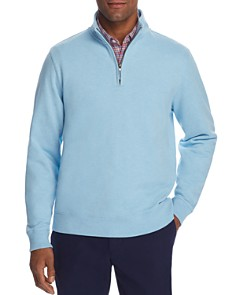 Brooks Brothers - Half-Zip French Terry Sweatshirt