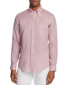 Brooks Brothers - Linen Classic Fit Button-Down Shirt