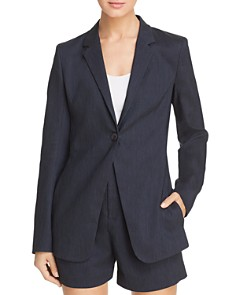 Elie Tahari - Hillary One-Button Blazer