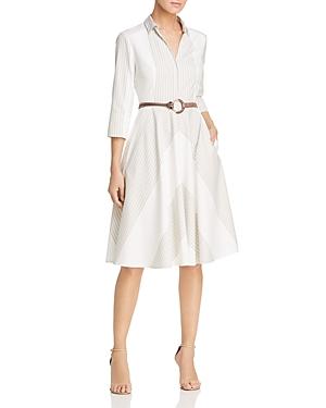 Elie Tahari Dresses CANDENCE BELTED SHIRT DRESS