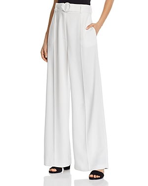 Wayf Pants LAYNE PINTUCK WIDE-LEG PANTS