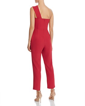 Adelyn Rae - Brooklyn One-Shoulder Jumpsuit