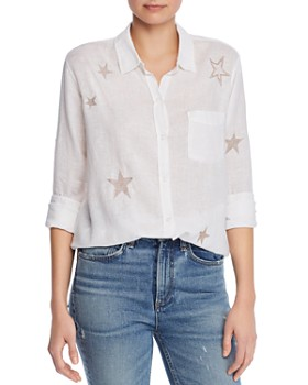 Rails - Charli Embroidered Shirt