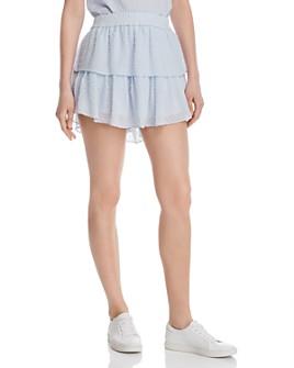 Generation Love - Sophia Swiss Dot Mini Skirt