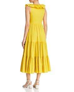 kate spade new york - Ruffled-Collar Midi Dress