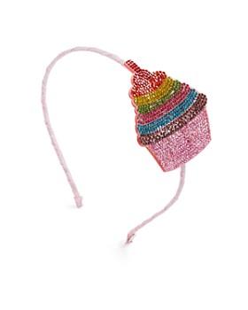 GiGi - Girls' Crystal-Cupcake Headband - 100% Exclusive