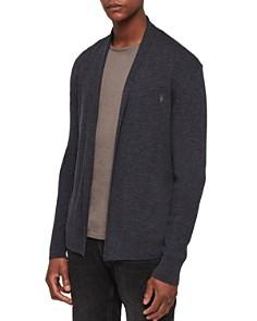 ALLSAINTS - Mode Merino Wool Open Cardigan