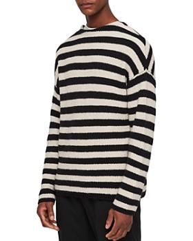 ALLSAINTS - Luca Striped Crewneck Sweater