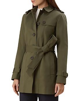 HOBBS LONDON - Ella Short Trench Coat