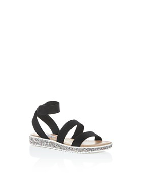 STEVE MADDEN - Girls' JKimma Strappy Platform Sandals - Little Kid, Big Kid