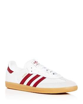 Adidas - Men's Samba Leather Low-Top Sneakers