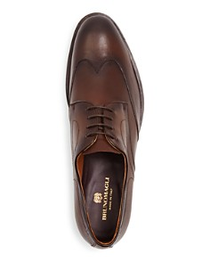 Bruno Magli - Men's Biagio Leather Wingtip Oxfords