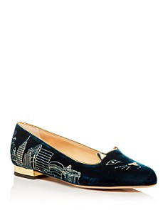 Charlotte Olympia - Women's City Kitty Flats