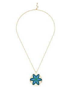 Atelier Swarovski - by Themis Zouganeli Evil Eye Round Pendant Necklace, 18""