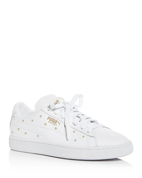 8ed19b98735 PUMA - Women s Basket Studded Low-Top Sneakers ...