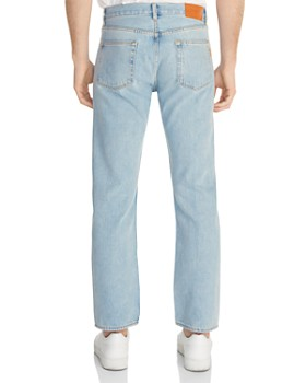 Sandro - Washed Regular Jeans in Blue Vintage