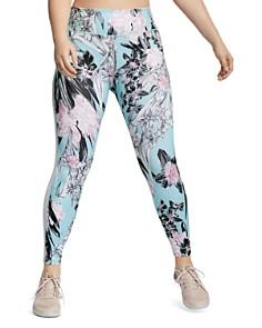 Nike Plus - All-In Floral-Print Training Leggings