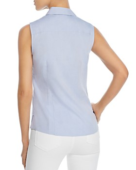 Foxcroft - Taylor Sleeveless Non-Iron Cotton Shirt