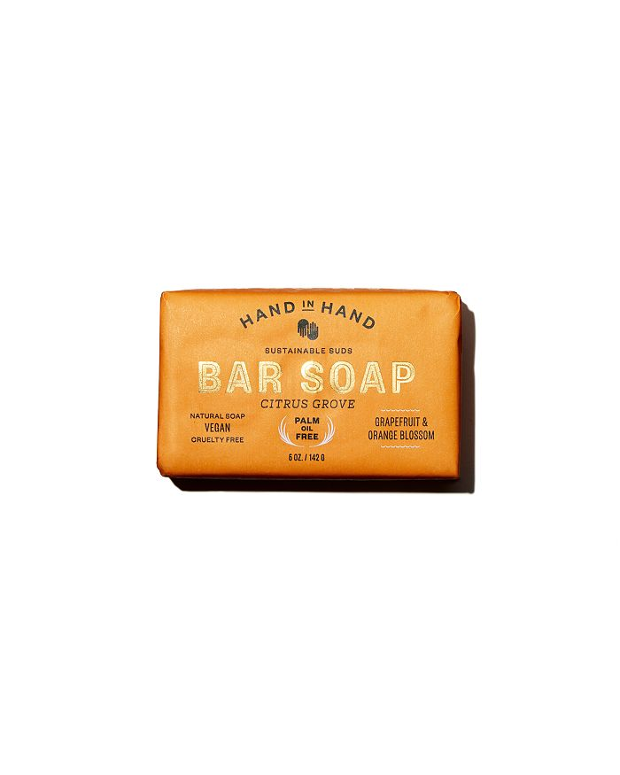 HAND IN HAND - Citrus Grove Bar Soap, 6 oz.