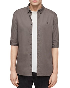 ALLSAINTS - Redondo Half-Sleeve Slim Fit Button-Down Shirt