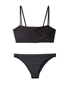 MIKOH - Kumu Bandeau Bikini Top & Miyako Bikini Bottom