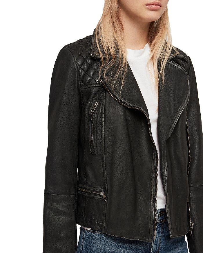 32bc83d04b52e ALLSAINTS - Cargo Quilted Leather Biker Jacket