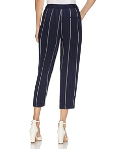 VINCE CAMUTO - Striped Cropped Pants