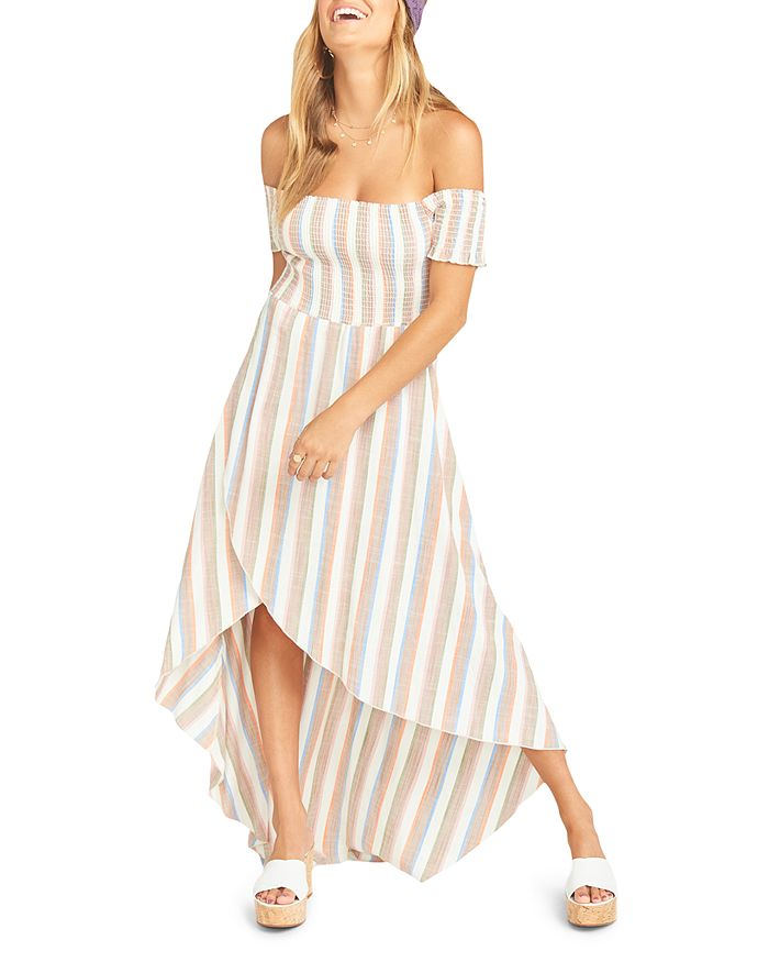 Show Me Your MuMu - Willa Off-the-Shoulder Maxi Dress - 100% Exclusive