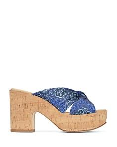 Donald Pliner - Women's Beeya Scarf Platform Sandals