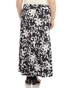 Karen Kane Plus - Lily Print Maxi Skirt