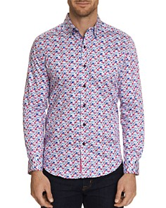Robert Graham - Everard Floral-Print Classic Fit Shirt