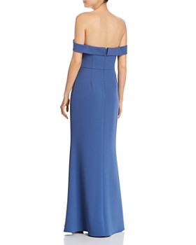 Aidan Mattox - Off-the-Shoulder Gown - 100% Exclusive