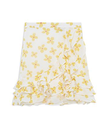 Bardot Junior - Girls' Floral Print Luella Ruffled Skirt - Big Kid