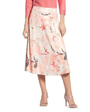 BASLER | Basler Floral-Print Skirt | Goxip