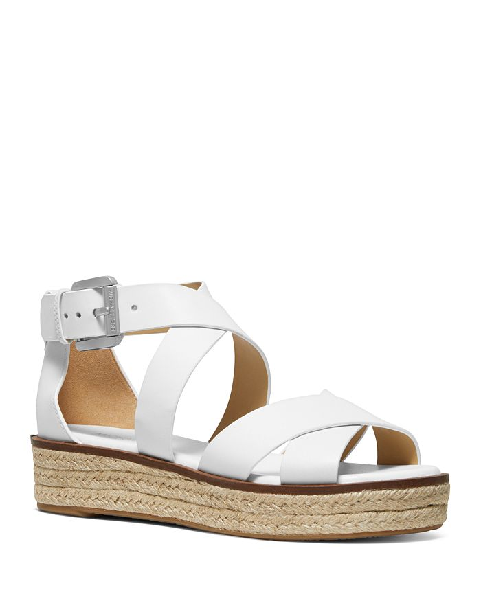 55eb8e0a285 Women's Darby Leather Espadrille Sandals