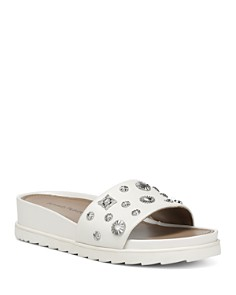 Donald Pliner - Women's Cailo Wedge Slide Sandals