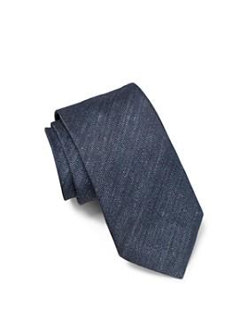 John Varvatos Star USA - Melange Solid Classic Tie