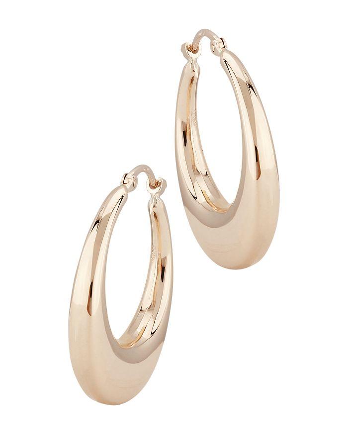 Bloomingdale's - Hoop Earrings in 14K Rose Gold - 100% Exclusive
